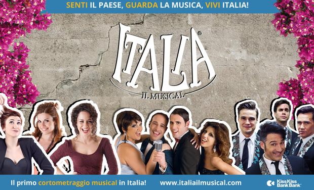 ITALIA, il musical: première in diretta streaming.