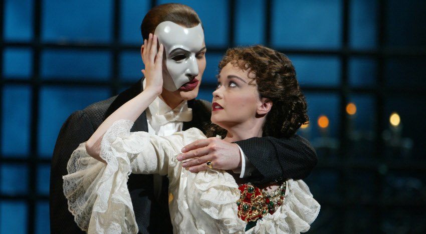 "Webber colpisce ancora:""The Phantom of the Opera"" in streaming"