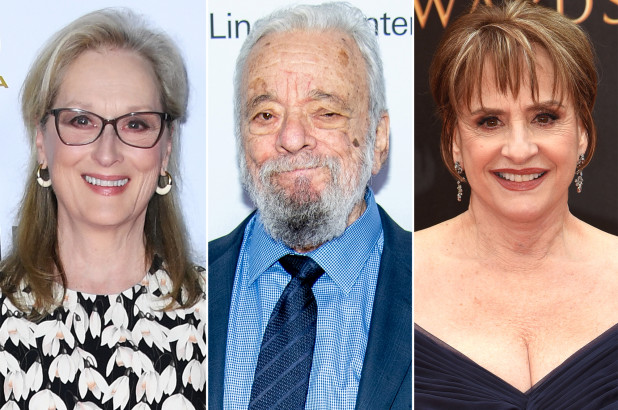 Meryl Streep, Patti LuPone, e altri per festeggiare virtualmente i 90 anni di Sondheim