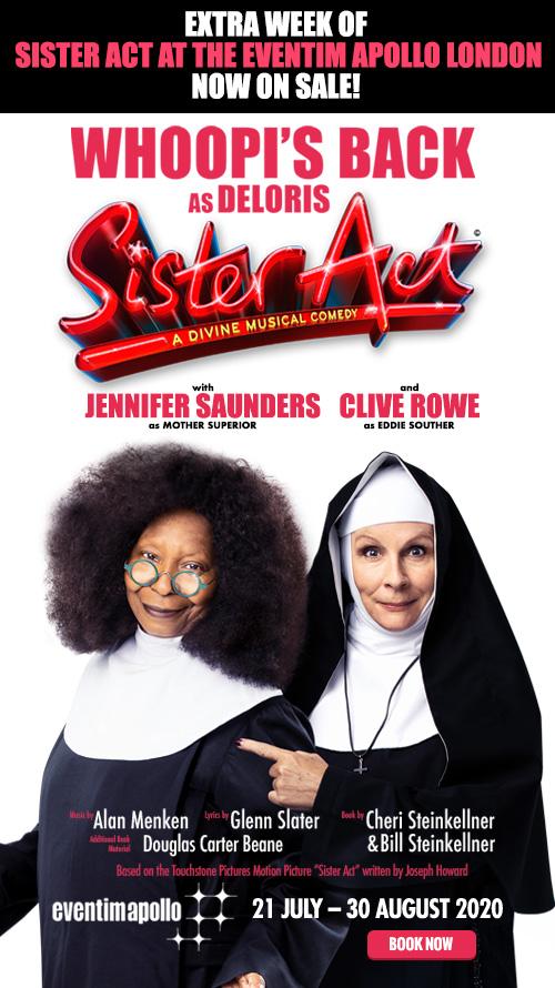 Un videomessaggio da Whoopi Goldberg e Jennifer Saunders
