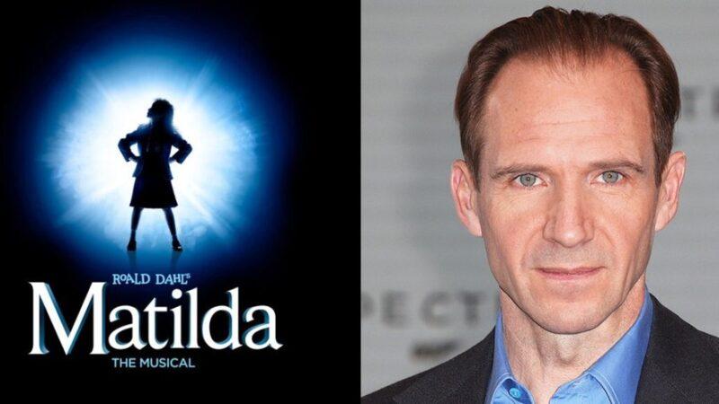 """Confermato! Raplh Fiennes, alias VOLDEMORT torna al cinema nel Film """"Matilda – the Musical"""""""