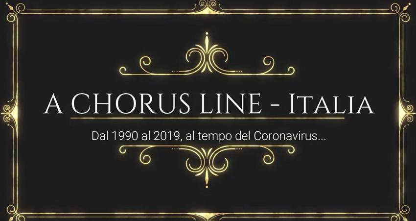 A Chorus Line Italia: riuniti a distanza