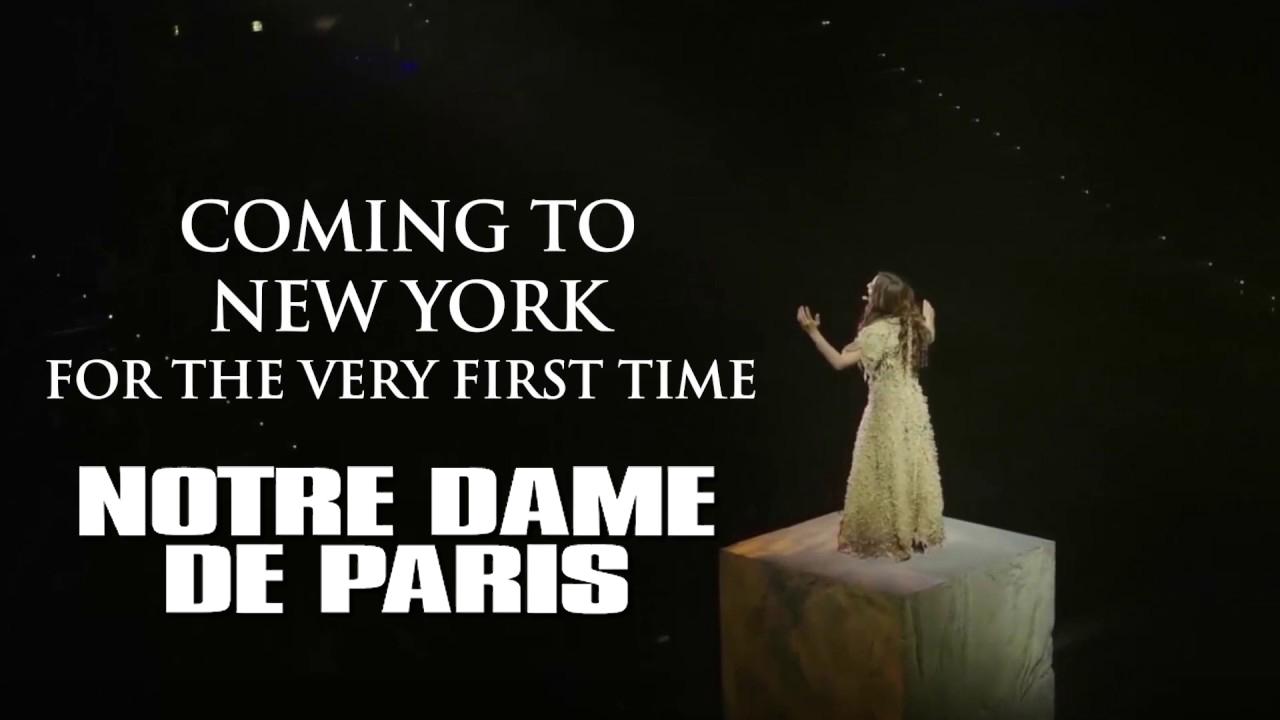 Notre Dame de Paris a New York: posticipato al 2022
