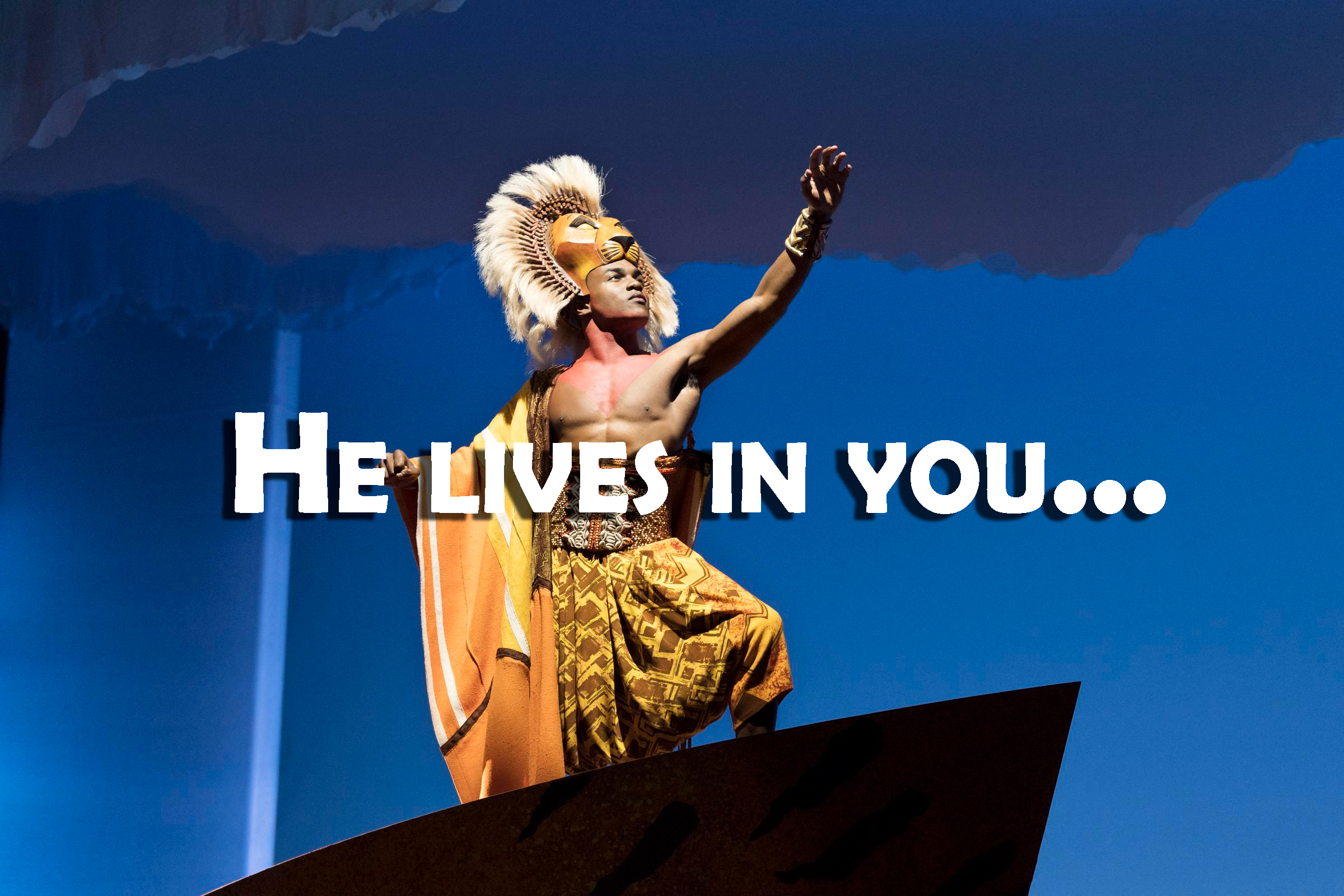 THE LION KING Il cast originale in una performance virtuale di 'He Lives In You'