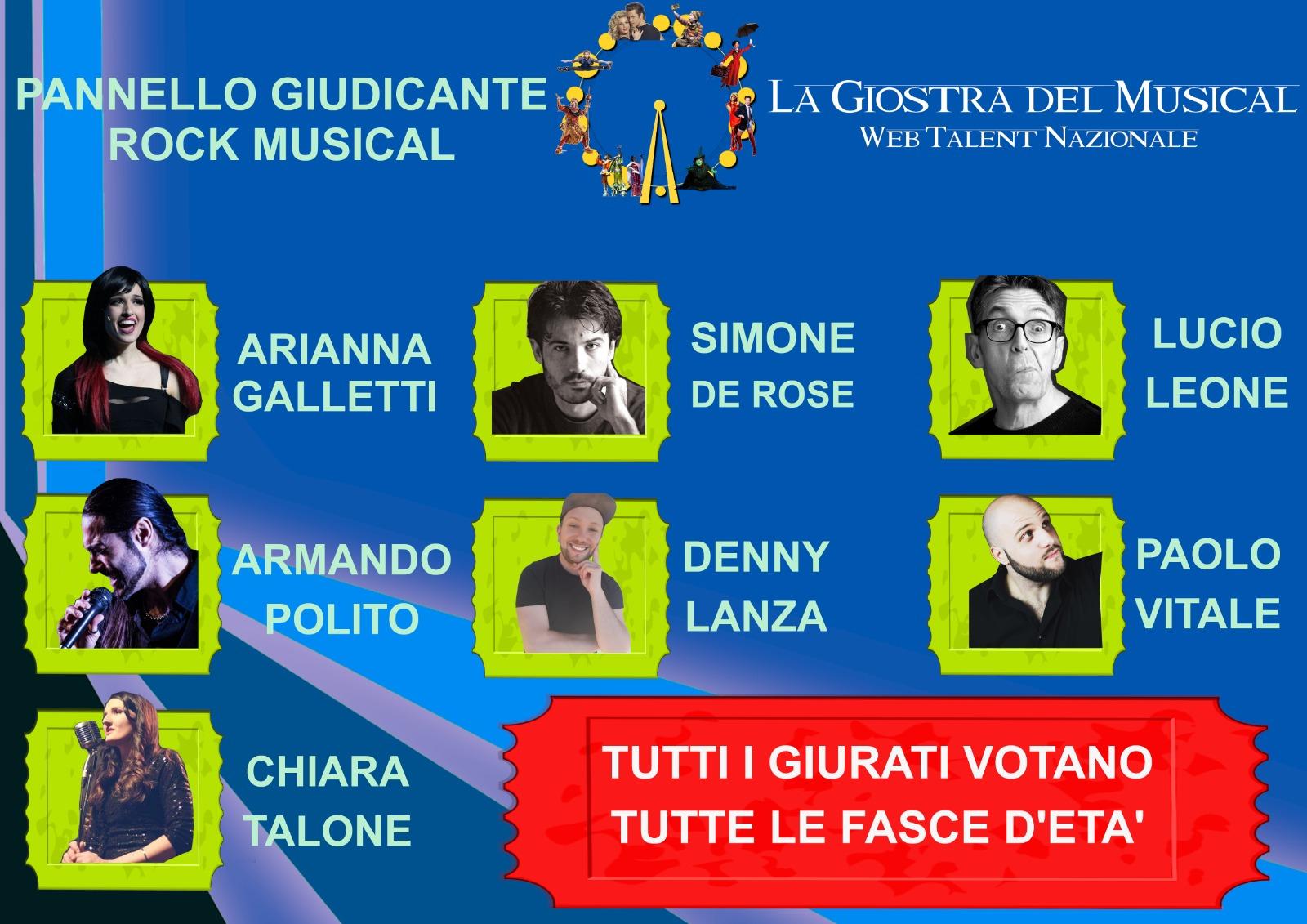 """La quinta Diretta de """"La Giostra del Musical"""" sarà alle ore 19.00"""