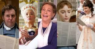 Julie Andrews è la voce di Lady Whistledown in Bridgerton
